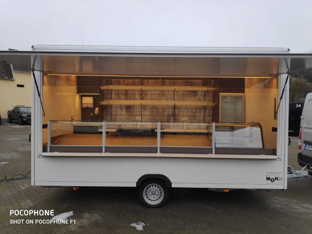 Bäckereianhänger Wagen 22