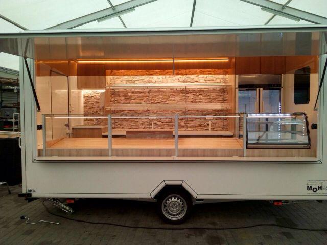 Bäckereianhänger Wagen 65