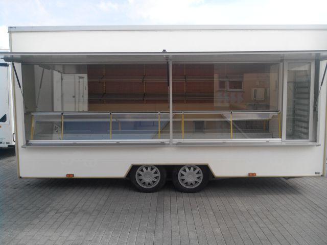 Bäckereianhänger Wagen 8