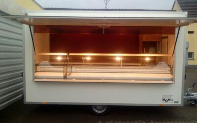 Wagen 21 – Kühlthekenanhänger